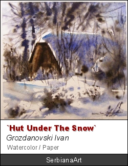 """Hut under the snow"", Grozdanovski Ivan"