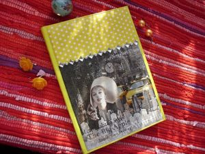Handicraft on Canvas 'Marilyn Monroe notebook' by Bubili art