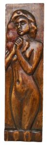 Handicraft on Wood 'Ivana' by Labus Slobodan