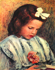A reading girl - Šifra: Pierre-Auguste Renoir - PAR04