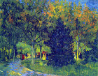 Allee in the Park - Šifra: Vincent Van Gogh - VG05