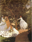 Femmes au jardin (Women in the Garden), 1867 - Šifra: Claude Monet - CM11