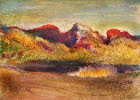 Lake and mountain - Šifra: Edgar Degas - ED16