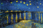 Starry Night Over the Rhone - Šifra: Vincent Van Gogh - VG22