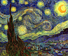 Starry Night - Šifra: Vincent Van Gogh - VG23
