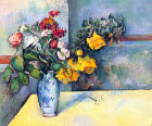 Still lifes, flowers in a vase - Šifra: Paul Cezanne - PC01