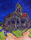 The Church of Auvers - Šifra: Vincent Van Gogh - VG24