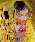 The Kiss (detail) - Šifra: Gustav Klimt - GK17