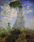 Woman with a Parasol - Šifra: Claude Monet - CM14