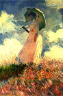 Woman with sunshade - Šifra: Claude Monet - CM20