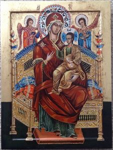 `Svecarica`icon of the Mother of God