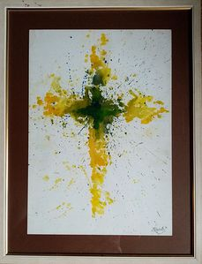 `Explosion in yellow`