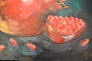 `Fruit pomegranates`