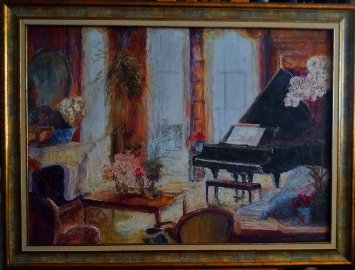 `Interior with piano 6`
