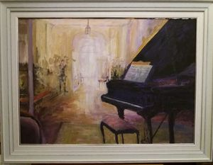 `Interior with piano II`
