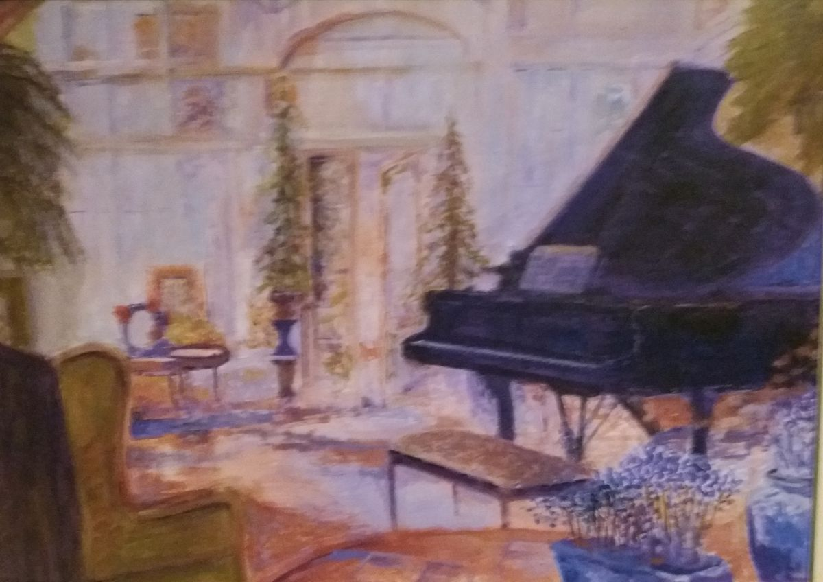`Interior with piano III`