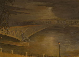 `Le Pont Mirabeau` ,by to poem G. Apollineire
