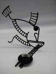 `Perch`-candlestick-sculpture