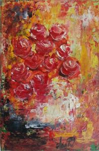 `Red roses`