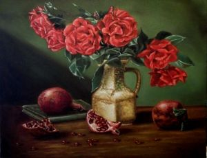 `Roses and pomegranates`