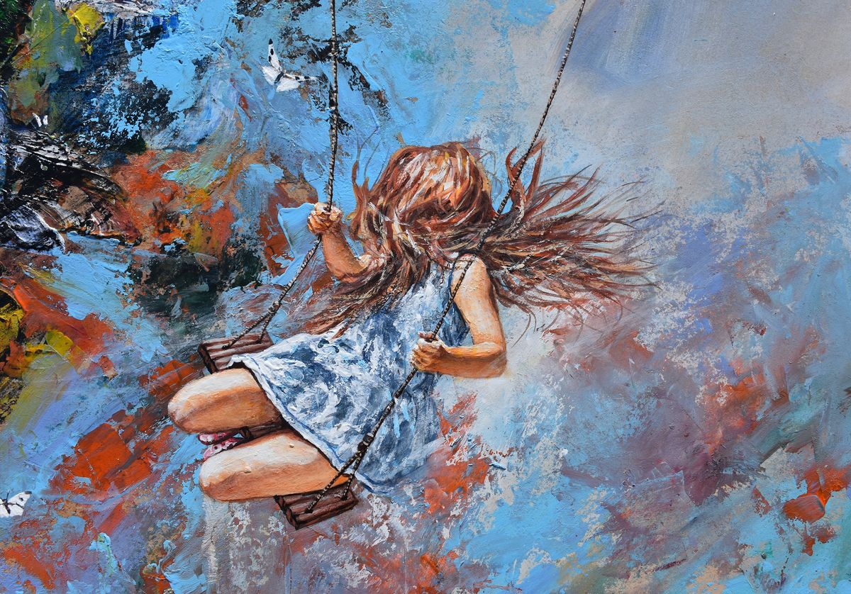 `Swing over the edge of the Heaven`