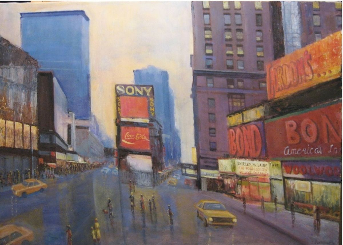 `Time Square 1930` NY