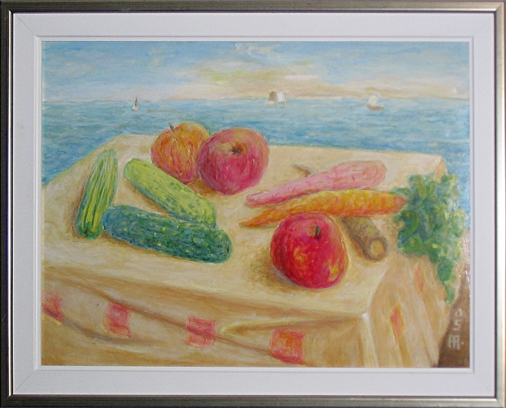 Still Life with Cucumbers