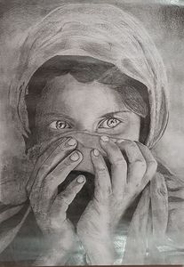 a girl from Afghanistan