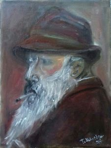 A replika of Claude Monet
