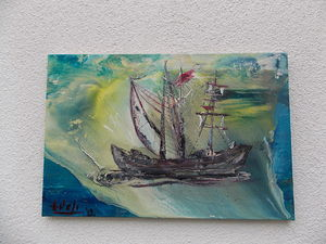 A sailboat from a fairy tale