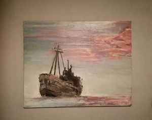 A ship in an unknown sea