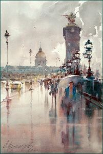 After rain, Paris