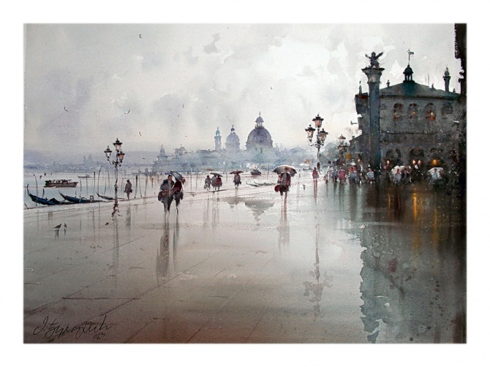 After the rain in Venice