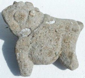 An animal from the Stone Age