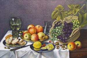 Basket with fruit 2