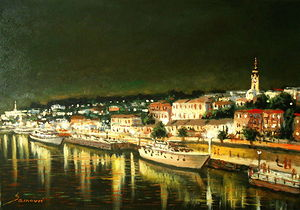 Belgrade by night II