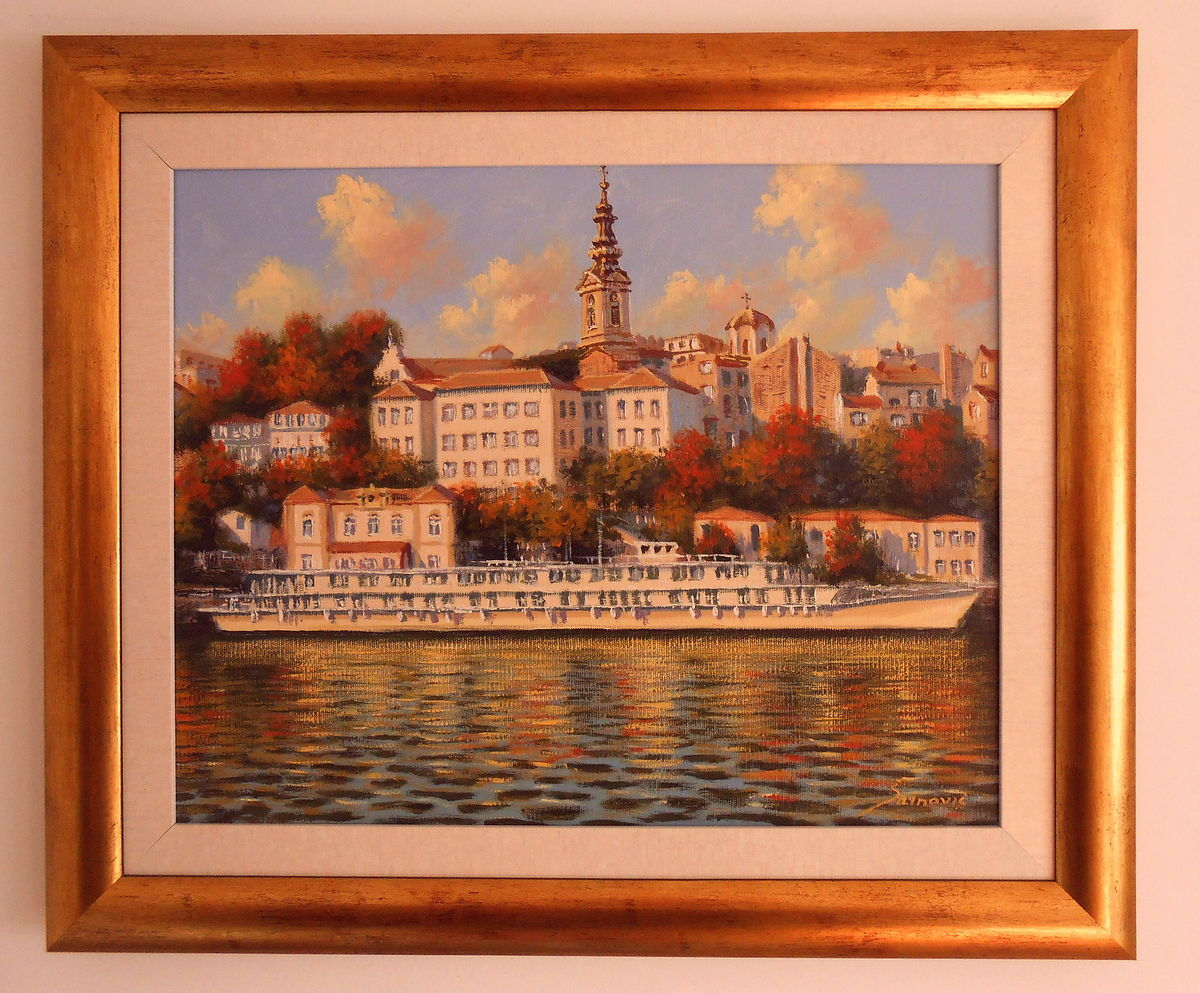 Belgrade from Sava river