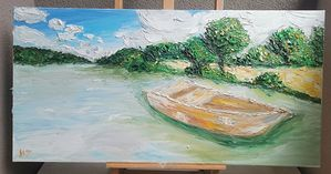 Boat on the Tisa