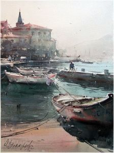 Boats in Perast 2