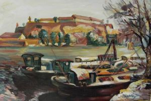 Boats on the Danube 1