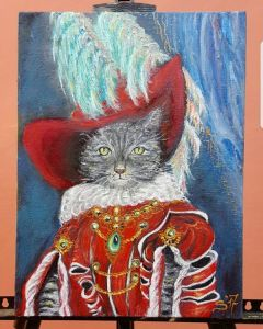 Cat with a hat