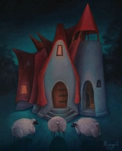 Clay house in the valley of fairies
