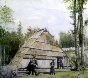 Cottage from Lika from the 17th century