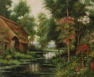 Diane`s cottage in june