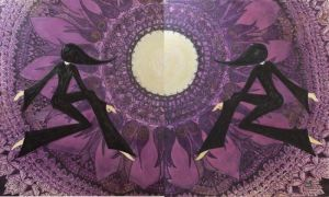 Diptych ~ Creating of the Universe (The Bees)