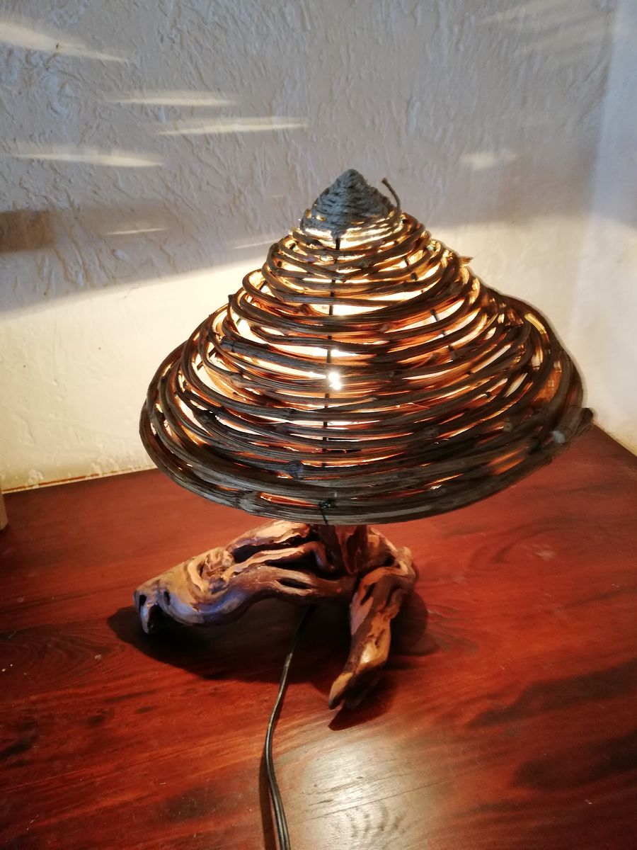 Ethno table lamp