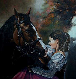Girl with a Horse
