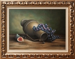 Grapes and figs