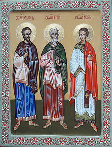 Holy Martyrs Gurias, Samonas and Abibus