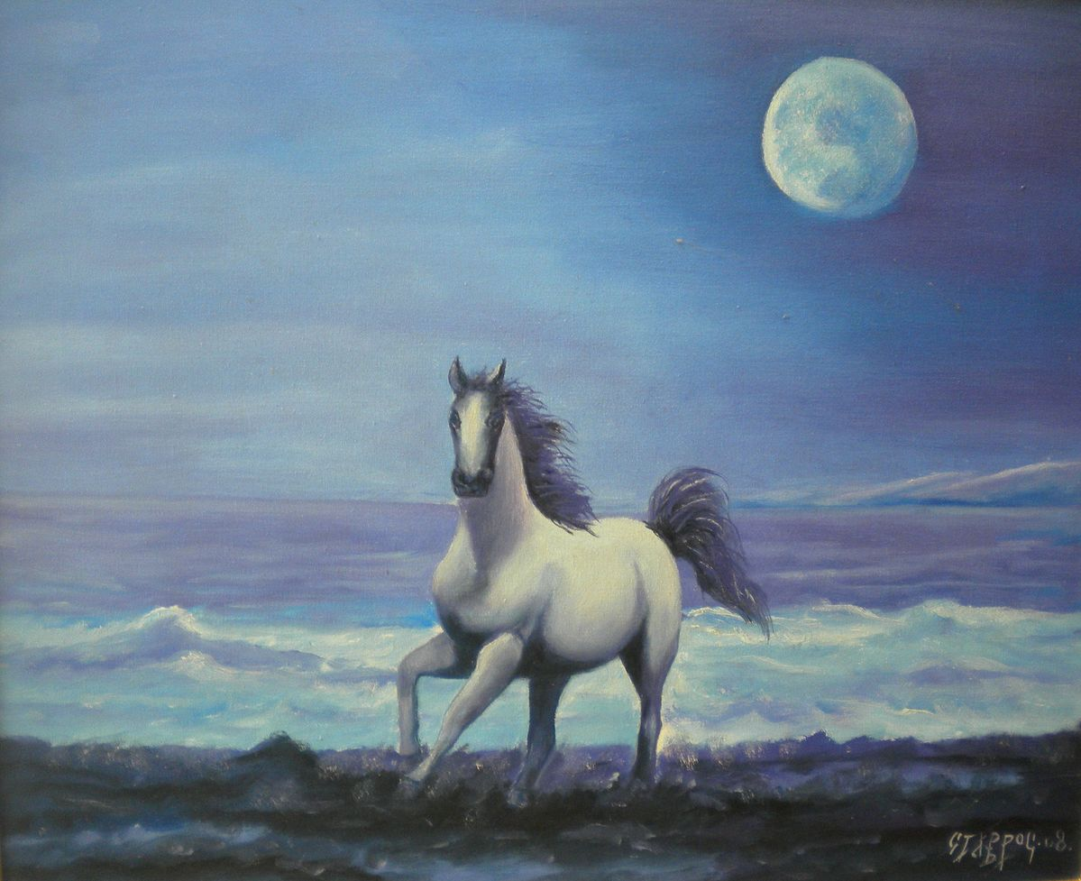 Horse in the moonlight (2008)